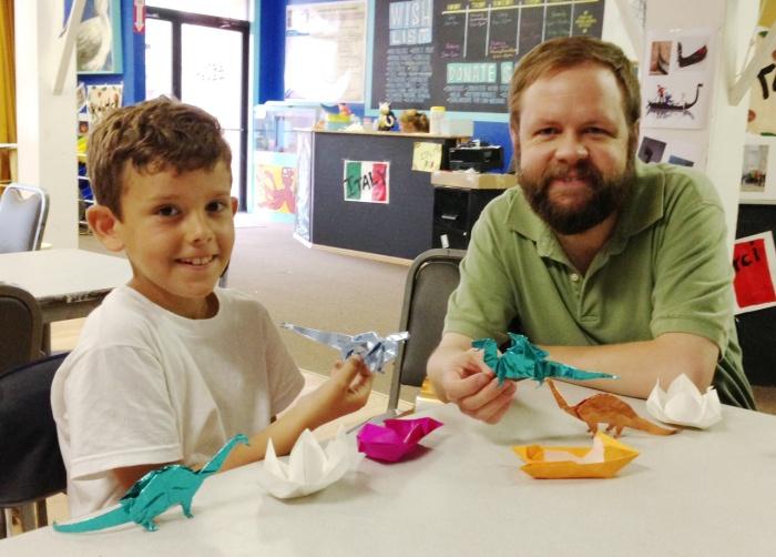 origami class photo