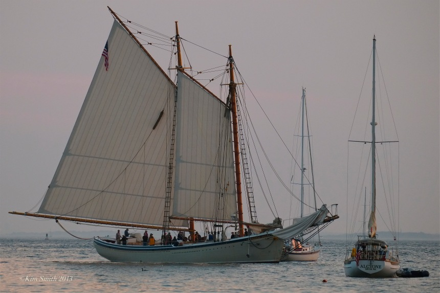 American Eagle Schooner ©Kim Smith 2013