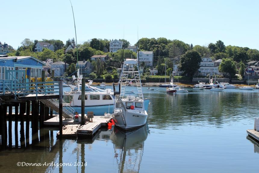 August 11, 2013 Beautiful View from Madfish Wharf Mug Up