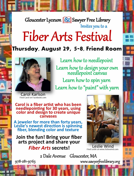 FIBER ARTS FLYER EBLAST  August
