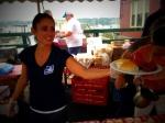 Sista Felicia: service with a smile!