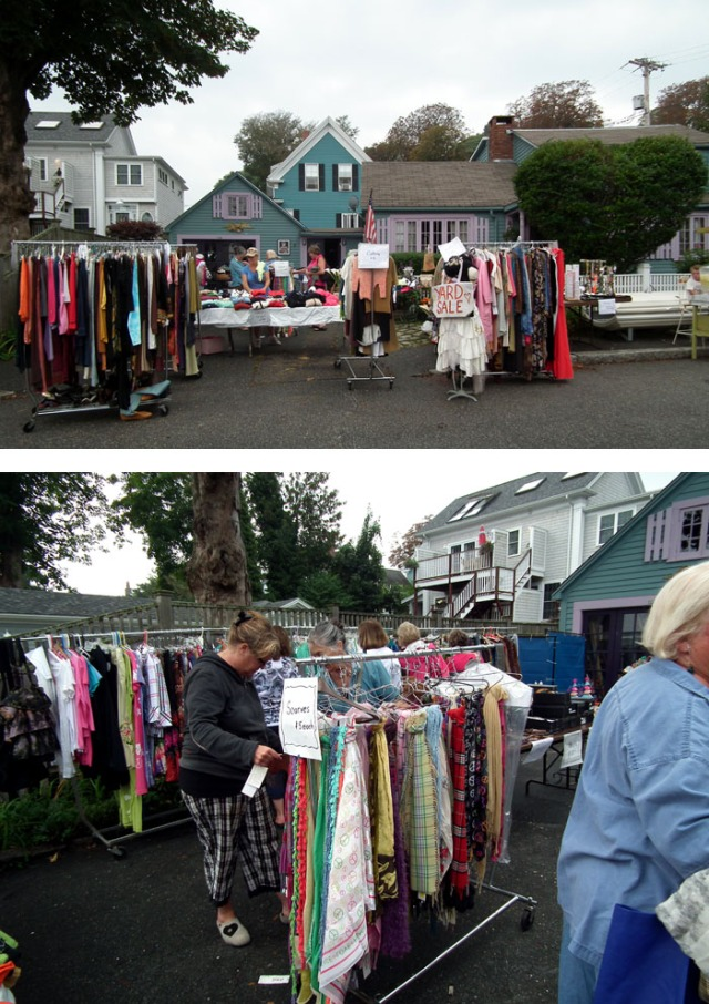 massive yard sale