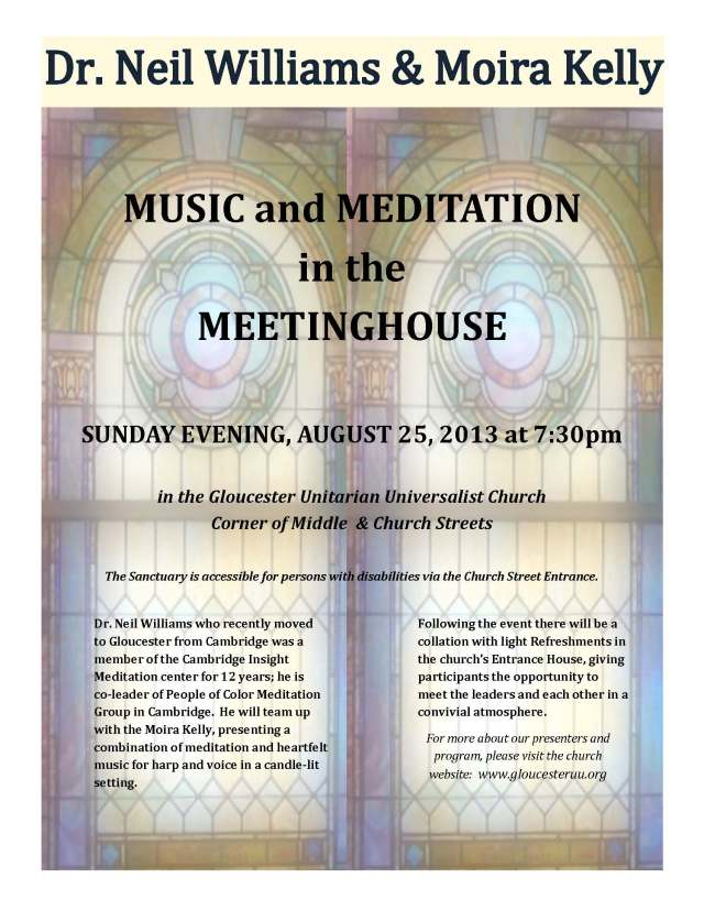 Music & Meditation in the Meetinghouse