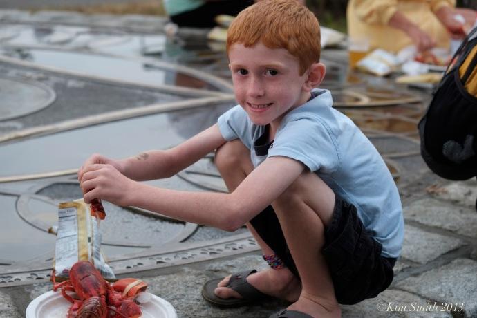 Schooner festival lobster Bake ©Kim Smith 2013