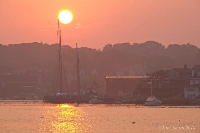 East Gloucester Sunrise -3 ©Kim Smith 2013.