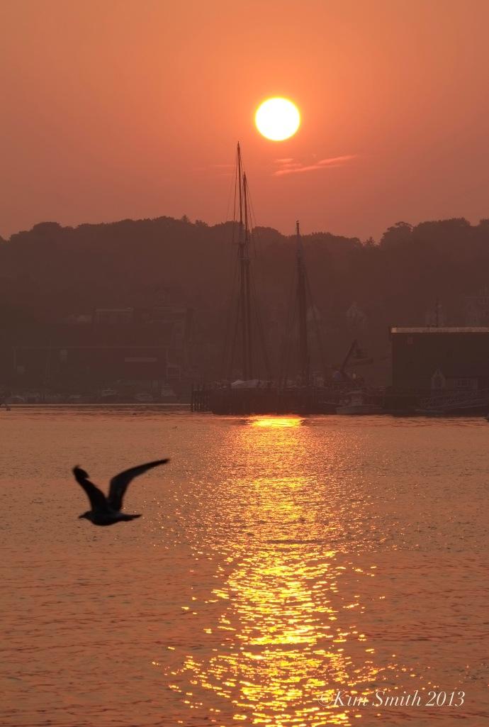 East Gloucester Sunrise  -4 ©Kim Smith 2013. copy
