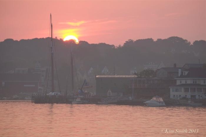 East Gloucester Sunrise ©Kim Smith 2013