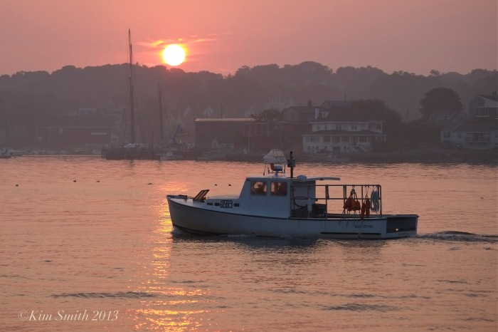 East Gloucester Sunrise Mar Stina©Kim Smith 2013.