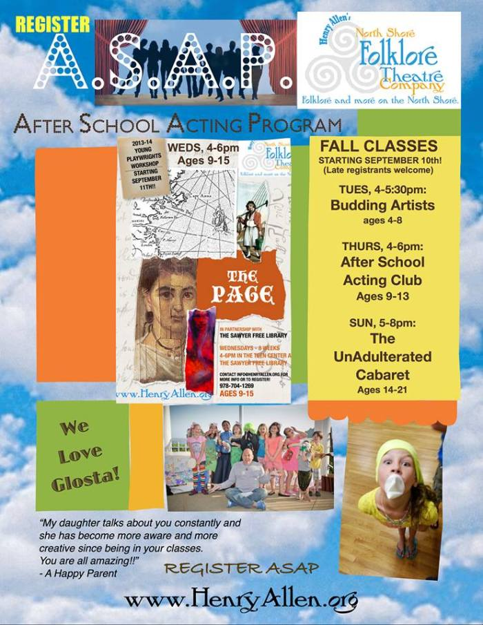 fall theater program