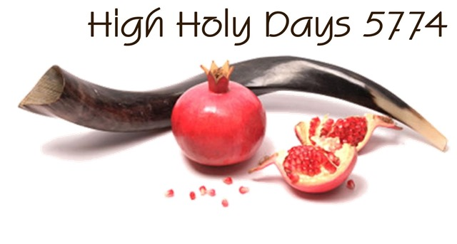 High Holidays 5774