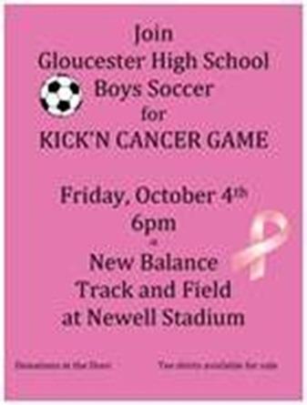 kickn cancer poster