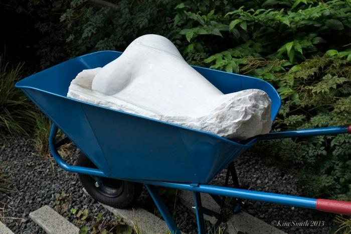 Nose in a Wheelbarrow HighLine NYC ©Kim Smith 2013