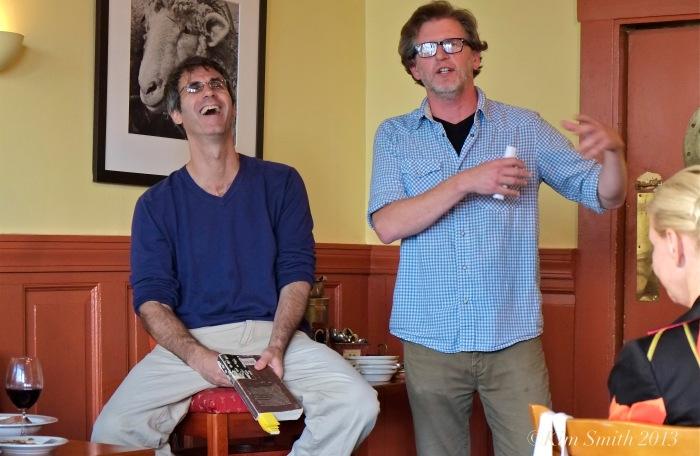 Steve Almond and Chris Anderson Duckowrth's ©Kim Smith 2013