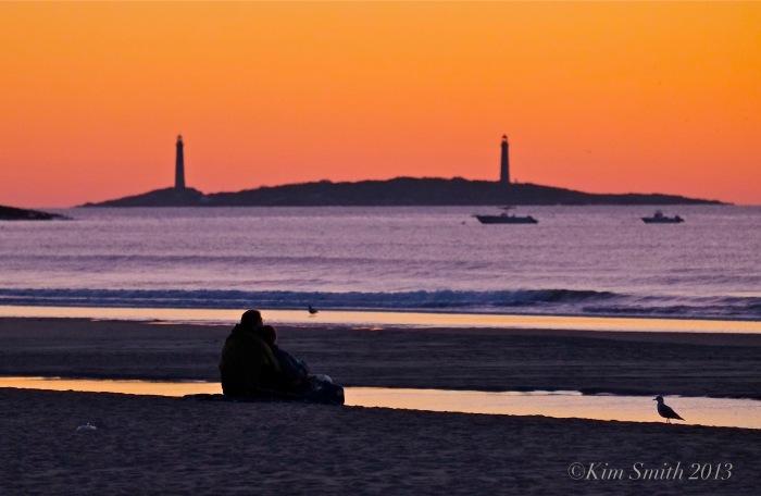 Twin Light Sunrise good harbor Beach ©Kim Smith 2013