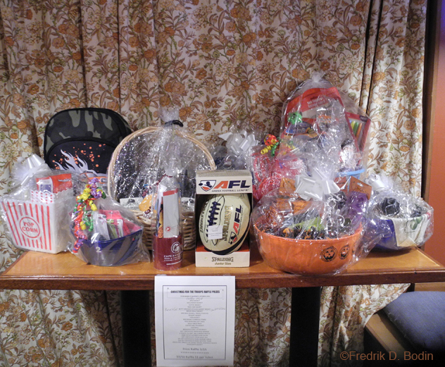 I bought three raffle tickets, and didn't win anything, never do, but that's not the point, is it? Operation Troop Support, for our men and women overseas. https://www.facebook.com/AMVETSLadiesAuxiliaryPost32 http://www.facebook.com/jalapenosmexrestaurant
