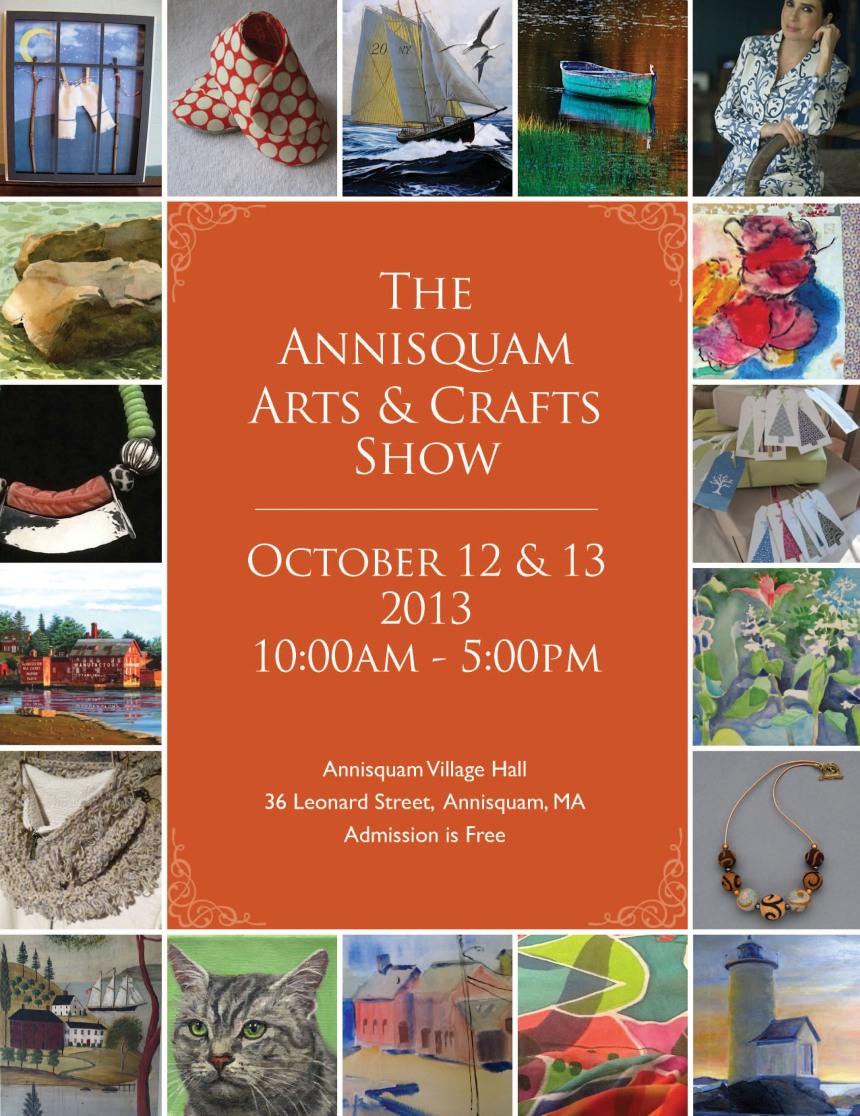 annisquam art show poster 2013