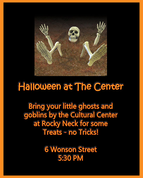 halloween at the cultural center