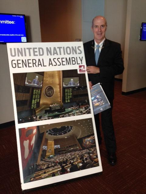 iain kerr at the UN