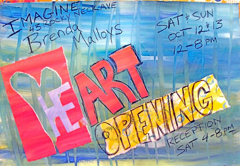 Imagine heart opening