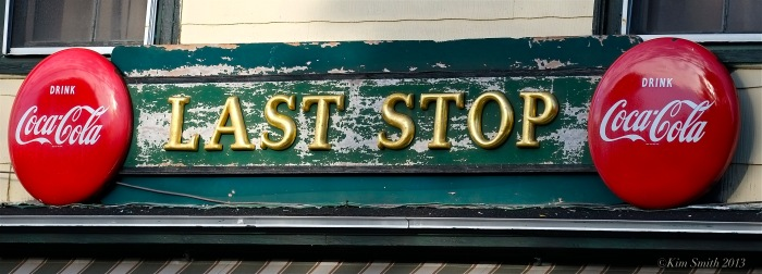 Last Stop East Gloucester ©Kim Smith 2013