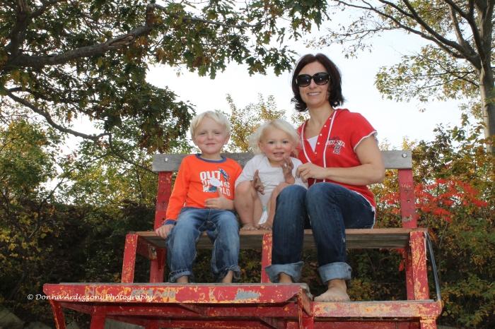 October 19, 2013 Cole, Avery, Auntie Ericka lifeguard