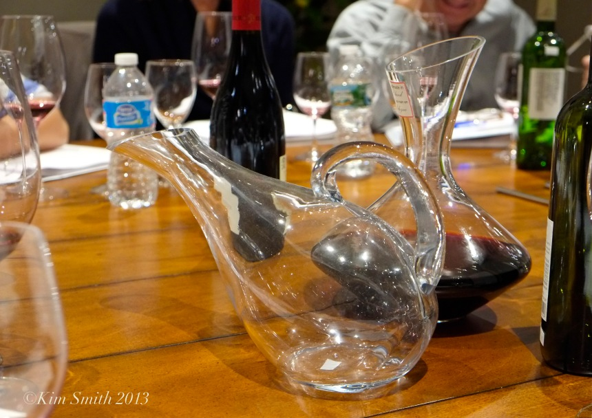 Savour Wine and Cheese duck decanter flagoon©Kim Smith