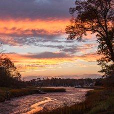 Days Creek Sunset