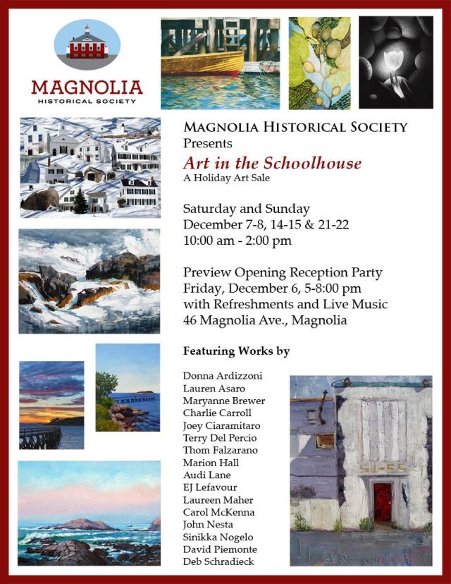 magnolia historical society art show poster3
