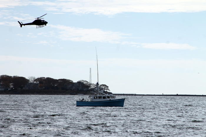 November 6, 2013 filming Wicked Tuna