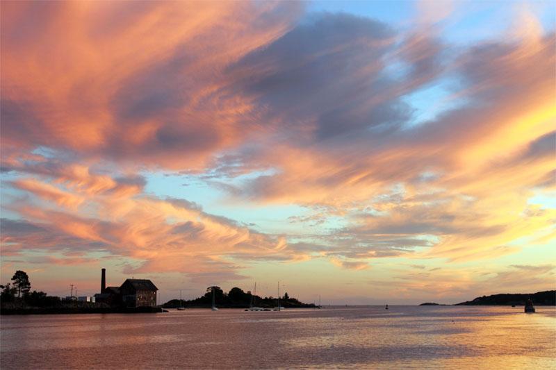 paint factory at sunset_bob wallace photo