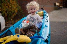 It's a kayak, no it's a stroller, no it's a shopping basket!!