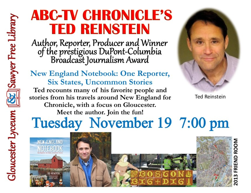 Ted Reinstein Flyer
