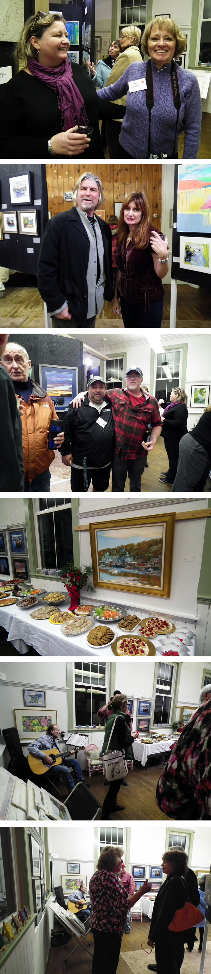art in the schoolhouse opening