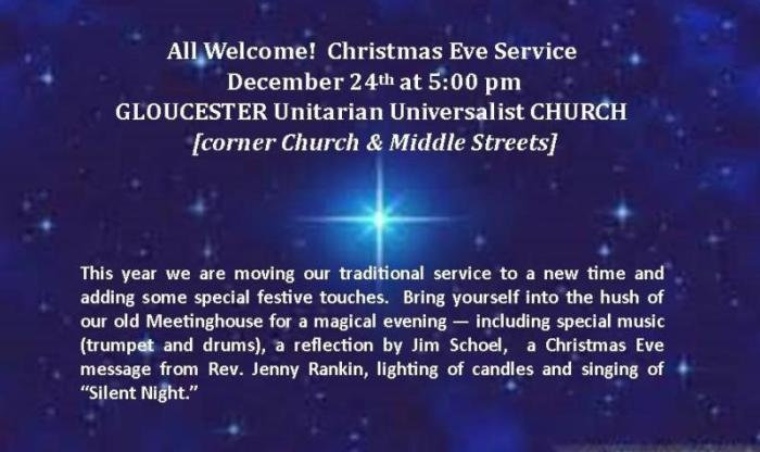Christmas Eve Invitation- Public Invited