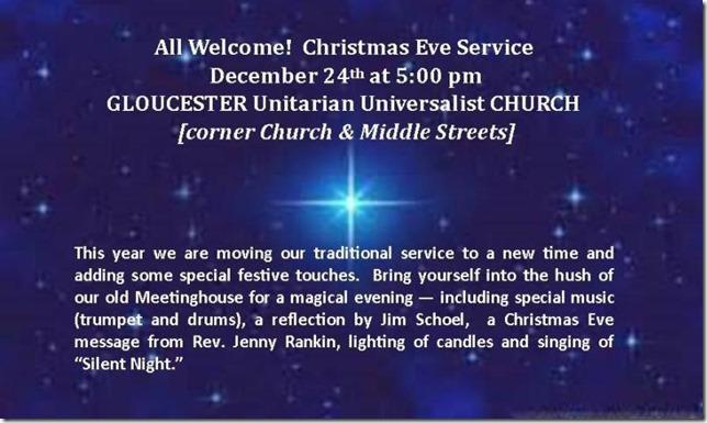 Christmas Eve Invitation- Public Invited