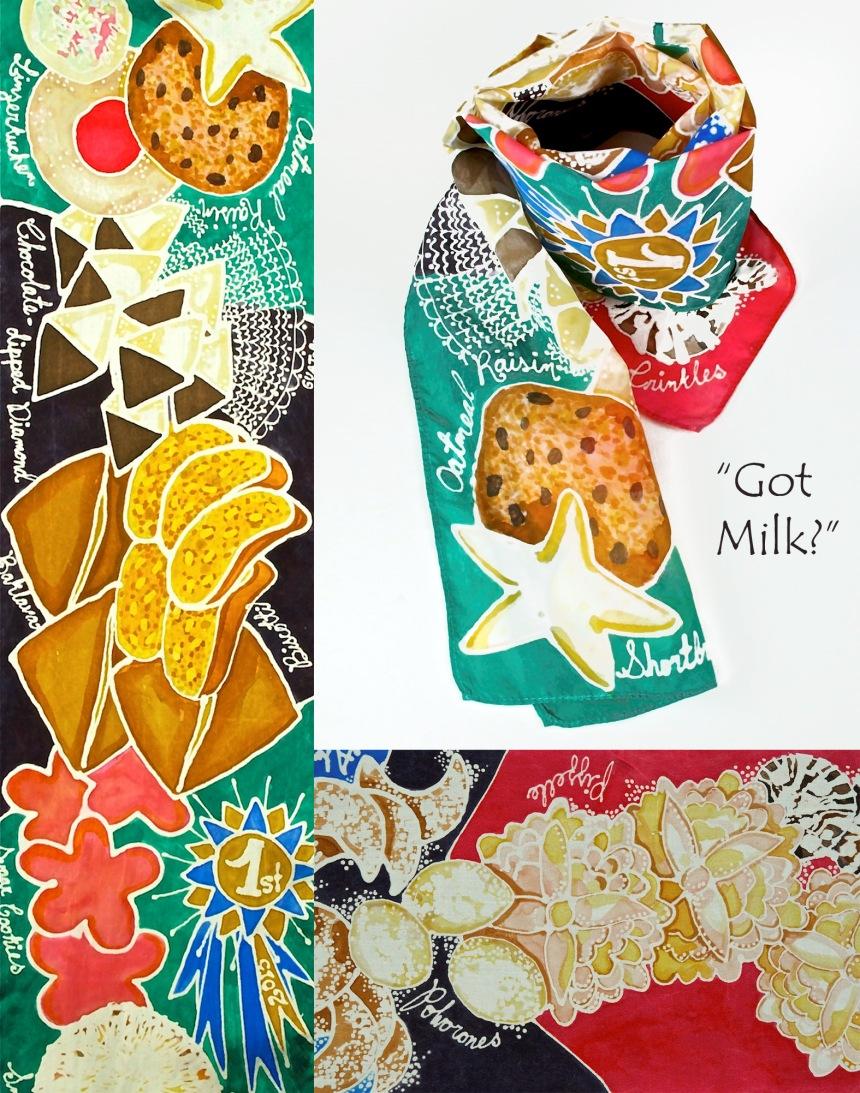 cookie scarf got milk