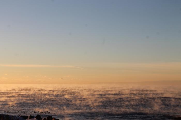 December 17, 2013 sea smoke