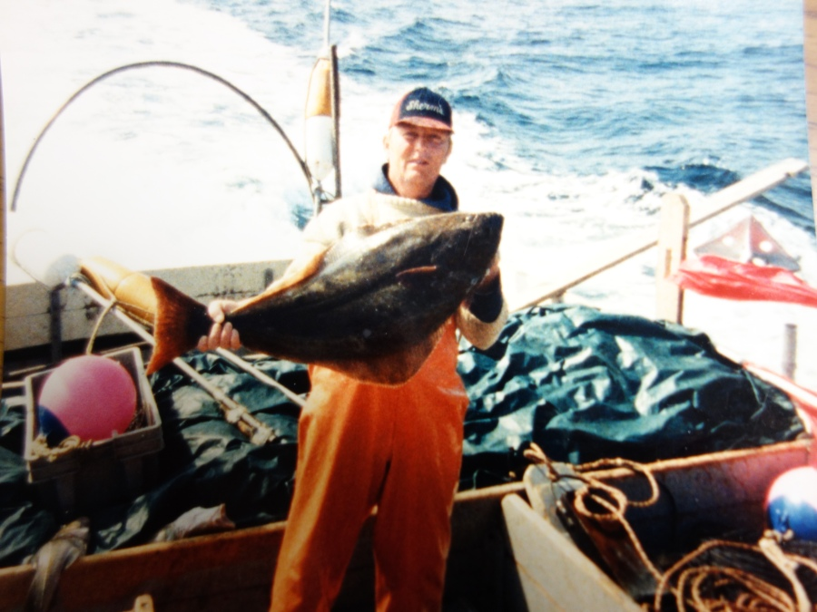Jose With A Halibut Aboard The Rumors