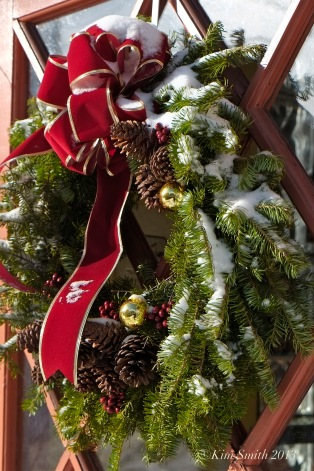 Duckworth's wreath ©Kim Smith 2013