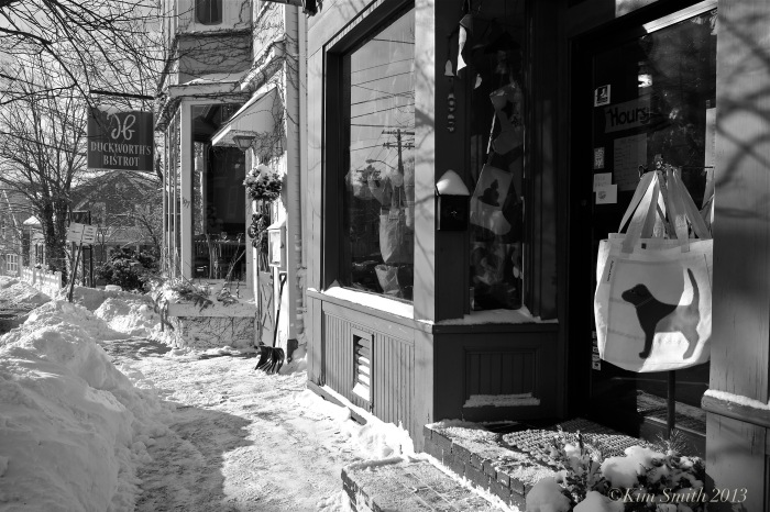 East main Street snow © Kim Smith 2013
