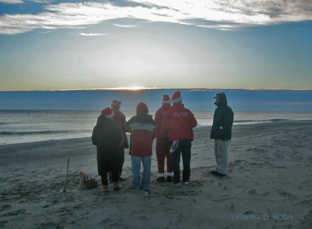 I traditionally go to outer Cape Cod for the Christmas holiday. A tradition my hosts have is to toast the December 25th sunrise at Coast Guard Beach with shots of Bailey's. Fun way to start the year!