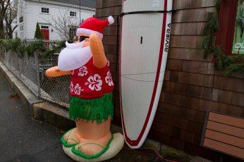 Surfari shows the Christmas Spirit