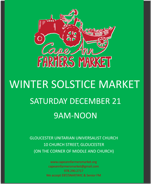 Winter Market Poster 2013