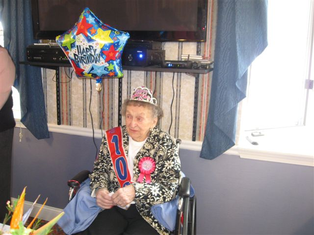 100th birthday! 001