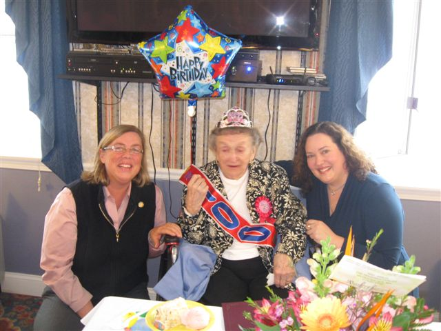 100th birthday! 020
