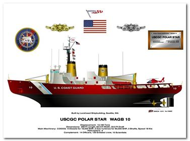 The USCG Polat Star, the most powerful heavy icebreaker in the world, has been en route to the frozen ships, but will continue on it's resupply mission to our base in Antarctica.