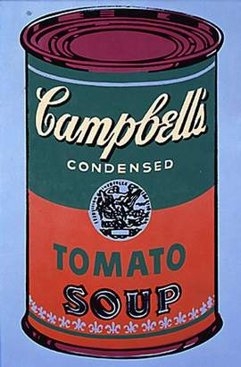 Andy Warhol designed can.