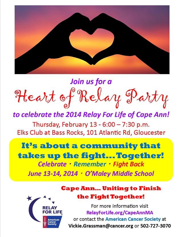 Cape Ann Kickoff poster