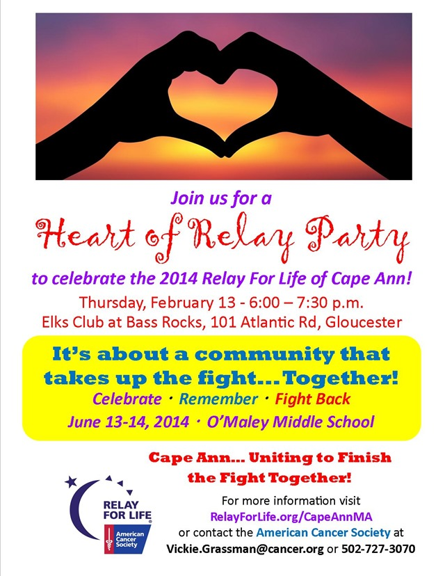 Cape Ann Kickoff poster