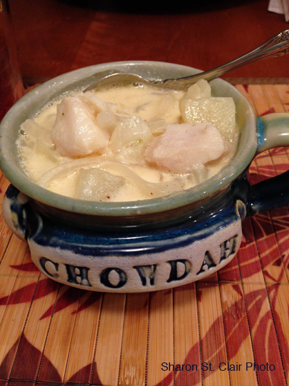 Hi Fred, Happy New Year to you!  Just want you to know your chowdah bowls are getting a good workout, even in Florida.  Tonight was special as they are full of Sista Felicia's Haddock Chowdah (except I had to use cod).  Delish!! Cheers, Sharon
